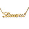 small gold Name Necklace