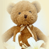 Cremation Urn Bear for Baby Loss
