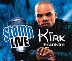 Kirk Franklin will perform live in Uganda