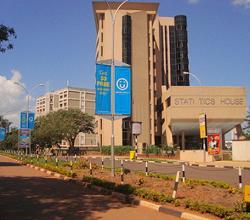 Statistics House in Kampala